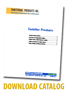 Download Functional Products Tackifier Catalog